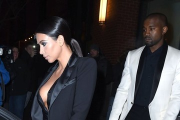 Kanye West Kim & Kanye Out For Dinner In New York
