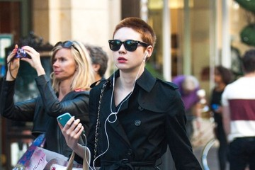 Karen Gillan Karen Gillan Goes Shopping at the Grove