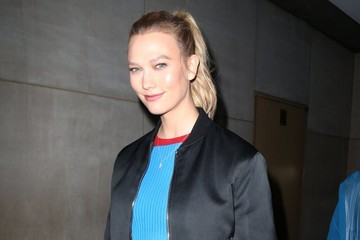 Karlie Kloss Celebrites At 'The Today Show' In NYC