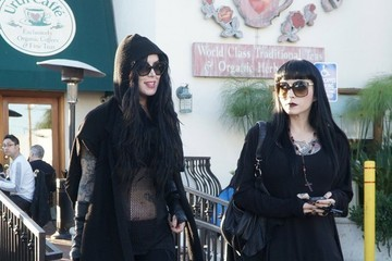 Kat Von D Amber Rose and Kat Von D Chat After Lunch
