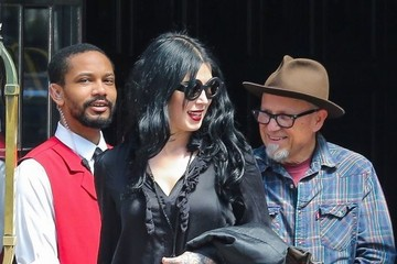 Kat Von D Kat Von D Steps Out in New York