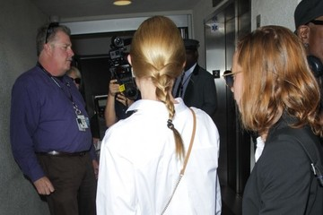 Kate Bosworth Kate Bosworth Departs on a Flight at LAX