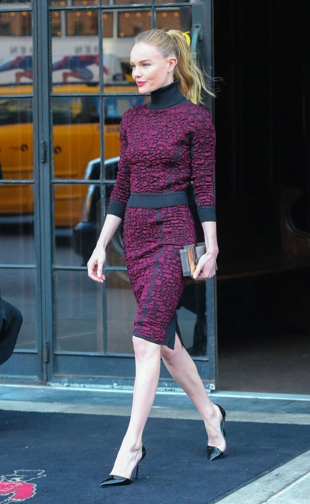Kate Bosworth Steps Out in NYC