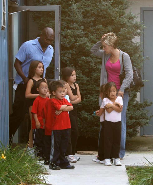 Kate Gosselin Spending The Day With The Kids