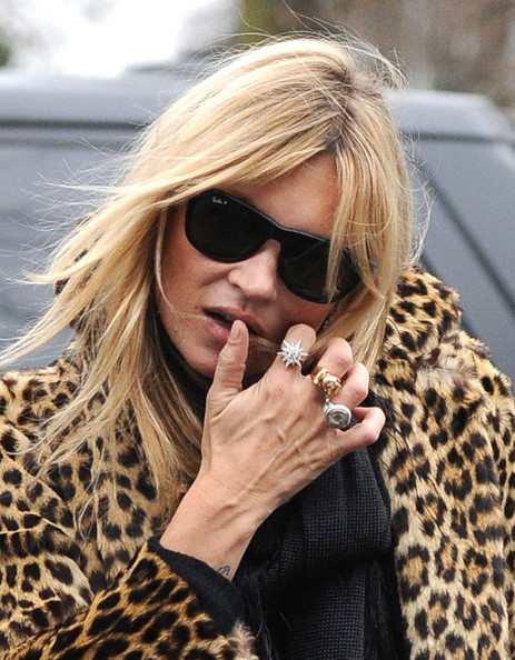 Kate Moss - Kate Moss Heads Home In London 4