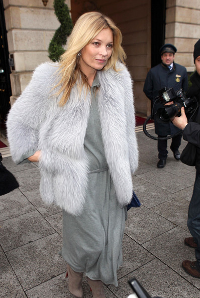 Kate Moss - Kate Moss Leaves The Paris Ritz Hotel