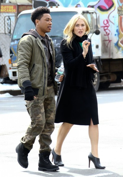 Celebrities Perform on the Set of 'Collateral Beauty'