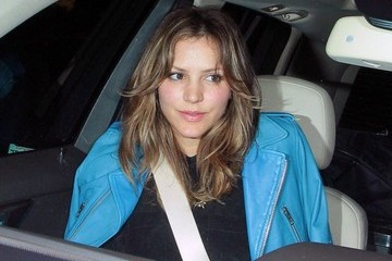 Katharine McPhee Celebs Get Dinner in West Hollywood