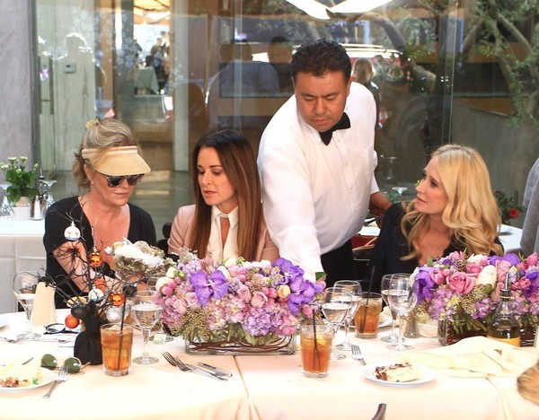 Kyle Richards, Kym Richards And Kathy Hilton Have A Baby Shower In Beverly Hills