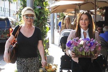 Kathy Hilton Kyle Richards, Kym Richards And Kathy Hilton Have A Baby Shower In Beverly Hills
