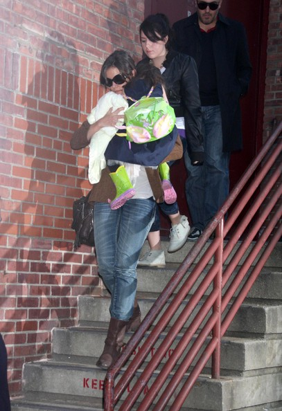 tom cruise and katie holmes and suri. Katie Holmes, Suri Cruise and