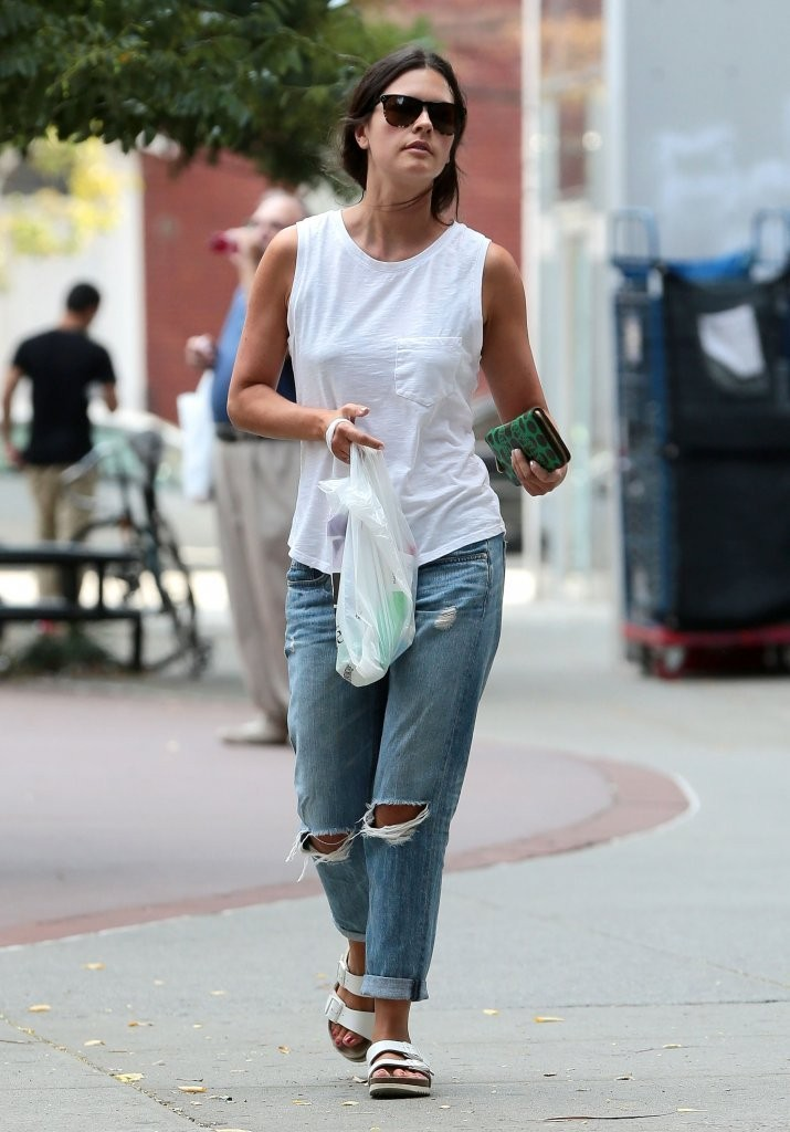 Katie Lee Steps Out in New York - Zimbio