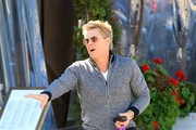 Kato Kaelin was seen having lunch with a friend in Beverly Hills, California on February 24, 2017. Kato was portrayed in a role in the miniseries 'People v. O.J. Simpson' which he says was an embellished role and most stuff about him in the series was made up for Hollywood drama.