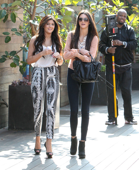 Kendall Jenner - Kylie And Kendall Jenner Filming In Malibu