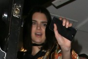 Kendall Jenner Leaves The Nice Guy
