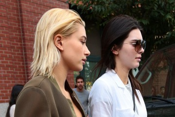 Kendall Jenner Kendall & Hailey Baldwin Out & About