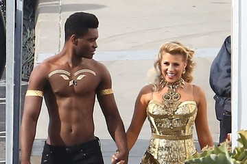 Keo Motsepe Celebs at the 'Dancing With the Stars' Studio