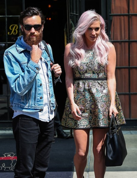 Ke$ha with kind, talented, intelligent, Boyfriend Brad Ashenfelter