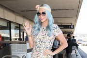 Kesha Catches a Flight at LAX