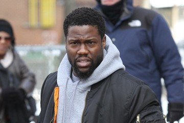 Kevin Hart Kevin Hart Shoots His New Film 'Untouchable' In The Bronx