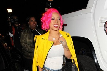Keyshia Cole Stars Celebrate French Montana's Birthday At 1OAk