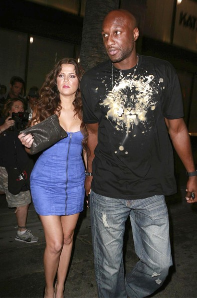 khloe kardashian and lamar odom. Khloe Kardashian And Lamar