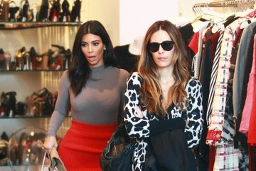 Kim Kardashian Kim Kardashian Indulges in Some Retail Therapy