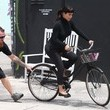 Kim Kardashian Has Some Trouble Bike Riding