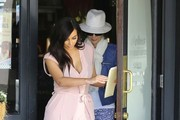 Kim Kardashian Takes Her Grandmother Out For Lunch