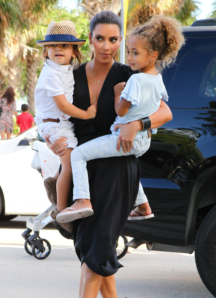 Kim Kardashian and Mason Disick Photos Photos - Kim And ...