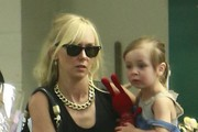 Kimberly Stewart & Her Daughter Shop At Whole Foods