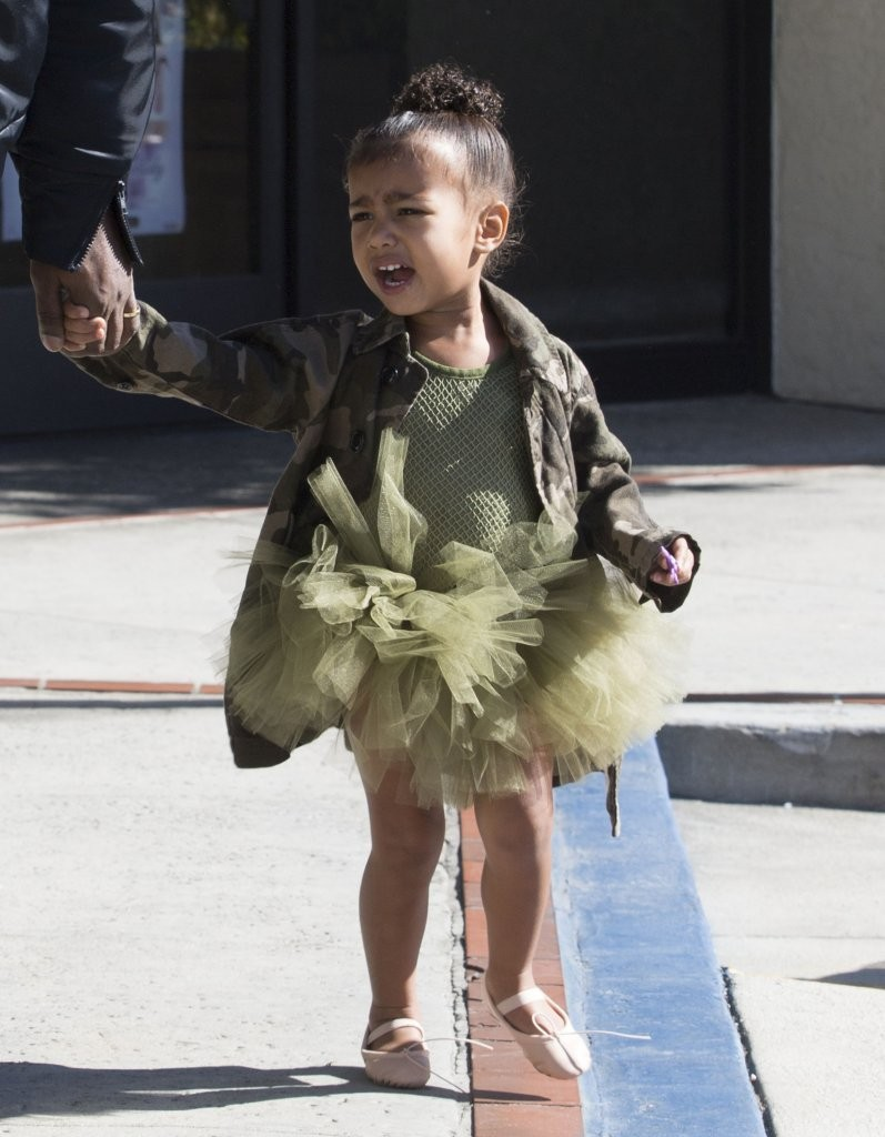Can Kim kardashian s baby north west tell