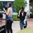 Larsa Younan and Reign Disick Photos