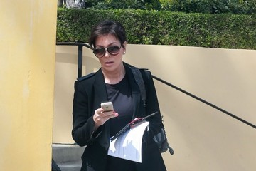 Kris Jenner Kris Jenner Heads to a Lunch Meeting