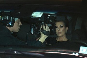 Kris Jenner The Kardashians Face Protesters At The 2016 Angel Ball