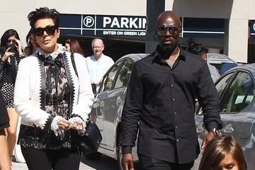 Kris Jenner The Kardashian Clan Heads Out for Lunch at The Ivy