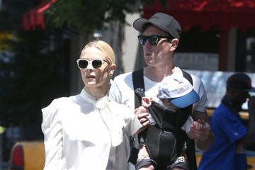 Kyle Newman Jaime King Spends the Day with Family