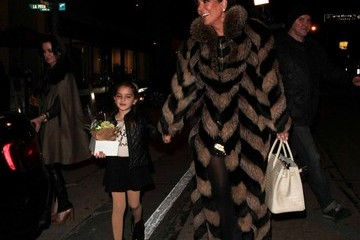 Kyle Richards Portia Umansky Kyle Richards Celebrates Her 47th Birthday at Craig's