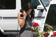 Kylie Jenner Out For Lunch at Sugar Fish