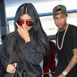 Kylie Jenner & Tyga Departing on a Flight at LAX