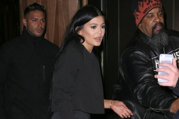 Kylie Jenner Celebrities Outside the Trump Soho Hotel