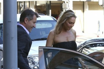 Kym Johnson Robert Herjavec and Kym Johnson Have a Lunch Date in Beverly Hills