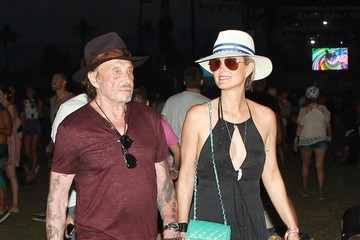 Laeticia Hallyday Celeb Sightings at Coachella: Day 2