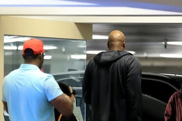 Lamar Odom Lamar Odom Goes Out in Beverly Hills