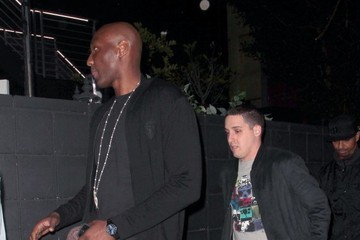Lamar Odom Lamar Odom Out Late in Hollywood