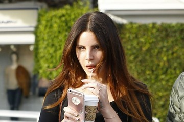 Lana Del Rey Lana Del Rey Stops by Fred Segal in West Hollywood