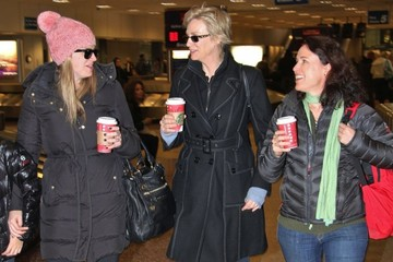 Lara Embry Jane Lynch Arriving For The Sundance Film Festival