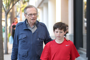 Larry King Cannon King Larry King And Cannon Spend Some Quality Time Together