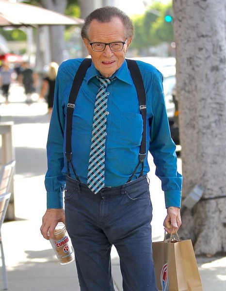 larry king photos photos larry king has lunch in beverly