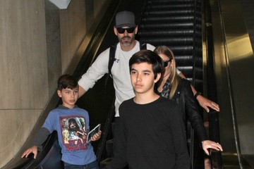 LeAnn Rimes LeAnn Rimes Touches Down At LAX With Her Family